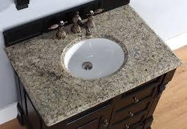 james martin single 36 inch santa cecilia granite countertop oval sink 2cm thick