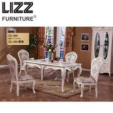 Antique looking furniture cheap Victorian Marble Dining Table Dining Room Furniture Set Royal Furniture Antique Style Muebels Square Table Themes4youclub 9 Marble Dining Table Dining Room Furniture Set Royal Furniture