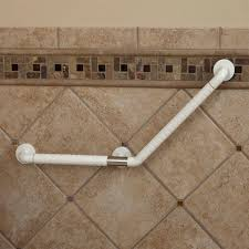White Ada Compliant Grab Bar | Signature Hardware