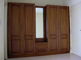 Mirror Cupboards Bedroom Small Size Room Decoration Space Saving Furniture Design Ideas One