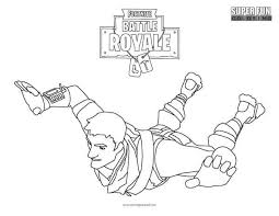 Fortnite Battle Royale Coloring Page Super Fun Coloring Pages In