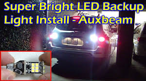 2017 Nissan Pathfinder Fog Light Installation Install Super Bright Backup Led Light Auxbeam T15 Nissan Pathfinder