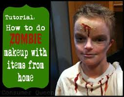 check out this tutorial on how to do zombie makeup for kids real advice gal zombie make up fun and ideas