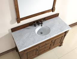 Marble Bathroom Sink Countertop Abstron 60 Inch Country Oak Finish Single Traditional Bathroom