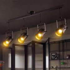 industrial track lighting industrial track lighting zoom. Image Is Loading 4-Heads-Modern-Industrial-Ceiling-Lamp-Adjustable-Track- Industrial Track Lighting Zoom C