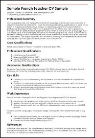 Sample Of Teaching Resume | Sample Resume And Free Resume Templates