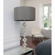 silver table lamps for bedroom fresh magnificent modern table lamps for living room 27 canada crystal