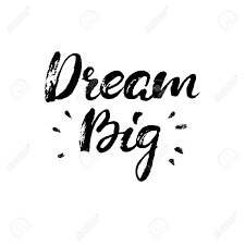 Dream Big Inspirational Quotes Best of Dream Big Boho Style Vector Phrase Inspirational And Motivational
