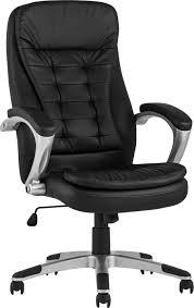 <b>Кресло руководителя TopChairs</b> Control черный/хром купить за ...