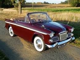 1963 Sunbeam Rapier 3a Convertible Rootes Group For Sale