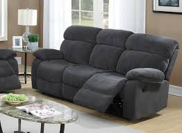 fabric reclining sofas. Beautiful Sofas Grey Fabric Reclining Sofa For Sofas M