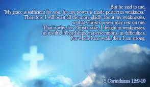 Bildergebnis für 2 corinthians 12 9 - 10