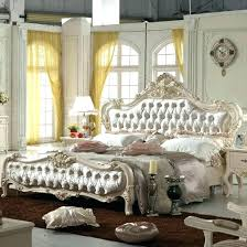Black Panel Bed King Queen Panel Bed Full Size White Bedroom Set ...