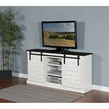 white tv stand 65 inch. Interesting White 65 Inch European Cottage Charcoal Gray U0026 White TV Stand On Tv 5