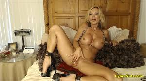 Big tits MILF in sexy nylons masturbating Shameless