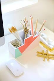 diy back to school desk organizer » lovely indeed