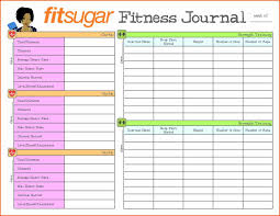 diet excel sheet log sheet health and fitness printable with free excel template