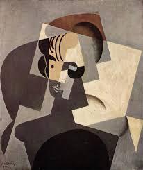 portrait of josette 1916 juan gris oil painting