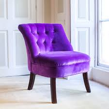 velvet occasional tub chair violet cuckooland lifestyle site sofa argos guest beds green solid wood furniture