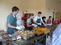 Soup Kitchen Meal Franciscan Outreach Community Volunteer Opportunities