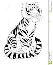 Cartoon Jungle Animals Coloring Pages