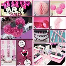 Pink And Black Minnie Mouse Decorations 17 Best Images About Baby Bday On Pinterest Disney Minnie