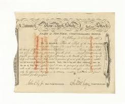 Collectible Early Stocks And Bonds 1700 1800s Stocks And Bonds