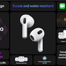 Apple Unleashed Event: $179 AirPods 3 gain Spatial Audio, sweat resistance,  MagSafe charging