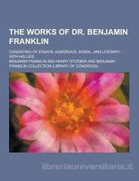benjamin franklin essaychecklist of objects  benjamin franklin  in his own words     benjamin franklin