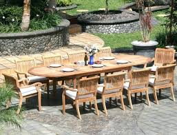 medium size of teak outdoor dining table for 10 seater perth and chairs fantastic large round