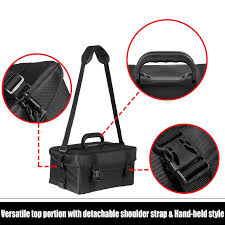 voilamart professional beauty makeup case rolling cosmetic train trolley vanity carry bag