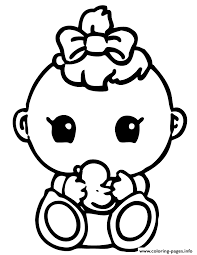Small Picture Cute Baby Girl Squinkies Coloring pages Printable