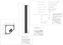 the murphy corner line array project details figure 3 1 the enclosure drawings