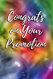 Congrats On Your Promotion Congrats On Your Promotion Blank Lined Journal Paperback