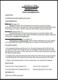 resume tips for an entry level ngo green job applicant planetsave entry level objective resume