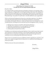 Resume Cover Letter For Accounting Internship Adriangatton Com