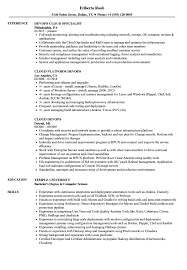 Cloud Devops Resume Samples Velvet Jobs