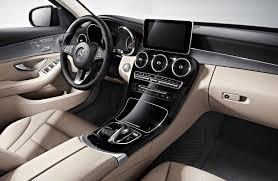 2018 c class sedan interior