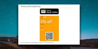 membership or card to apple wallet