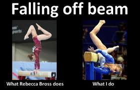 gymnastics meme | Tumblr via Relatably.com