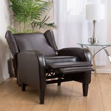 best leather recliner. Leather Wingback Recliner Chairs Best D