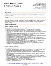 Auditor Job Description Resumes Senior Internal Auditor Resume Samples Qwikresume