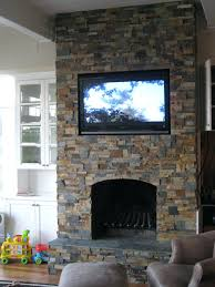 full image for stone look electric fireplace canada faux stack mantel