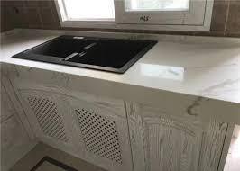 decorative prefab kitchen countertops gold quartz slab luxury appearance images