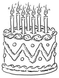 Small Picture Birthday Cake Coloring Page Alric Coloring Pages