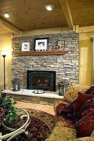 rock fireplace ideas second painted stone fireplace ideas rock fireplace