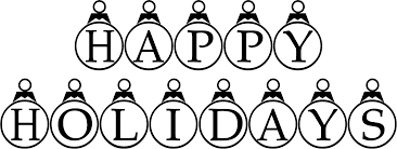 happy holidays black and white. Brilliant Holidays Happy Holidays Clip Art Black And White  Google Search Throughout Happy Holidays Black And White