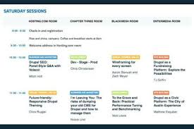 Free Resume Sample » Conference Program Schedule Template | Resume ...