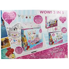 Disney Princess 3 In 1 Bedroom Accessories Set | Craft Activities For Kids  At The Works