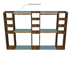 How to build closet shelves Walk In Ana White Ana White Master Closet System Diy Projects